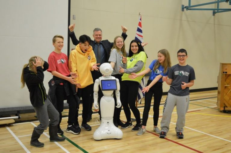 [Coquitlam School District] Robot Teachers for STEM Students