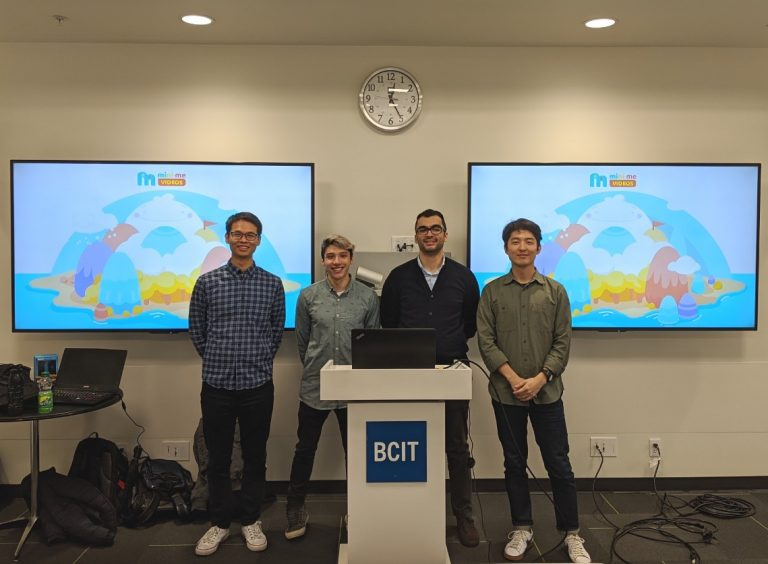 [BCIT] Students Collaborate with a Client for airG