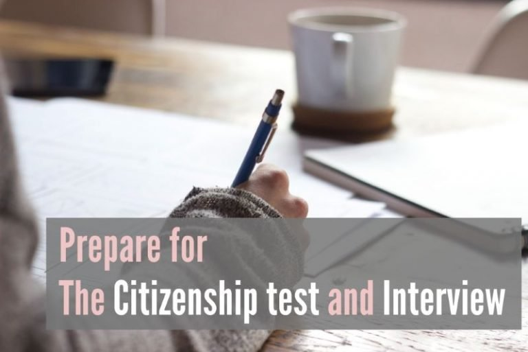 Prepare for the Citizenship test and Interview