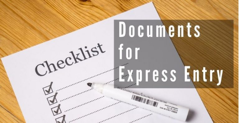 What are the documents I need for Express Entry?