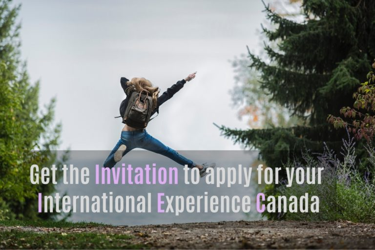 How can I get the invitation to apply for IEC?