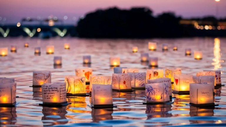 [QC] The Water Lantern Festival will Light Up the Summer Evening in Montreal