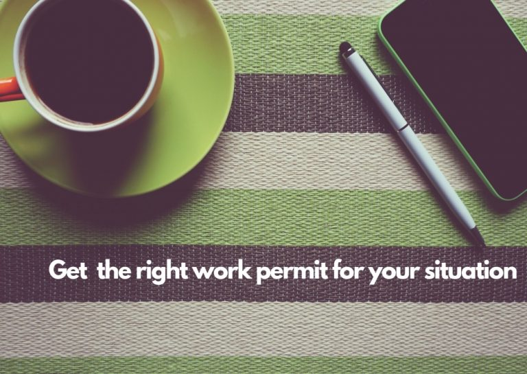 Get the right work permit for your situation