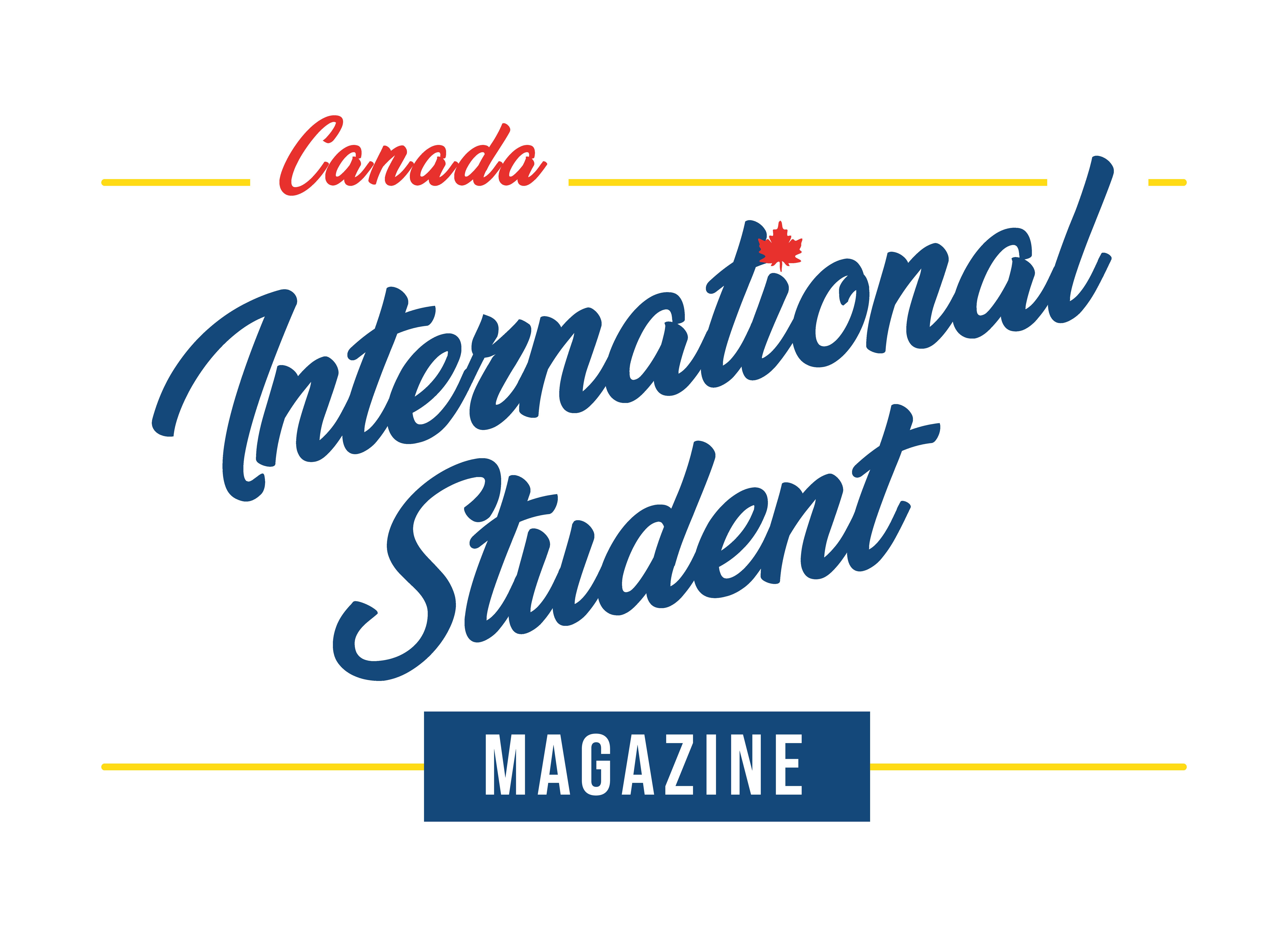 Canada International Student Magazine Logo