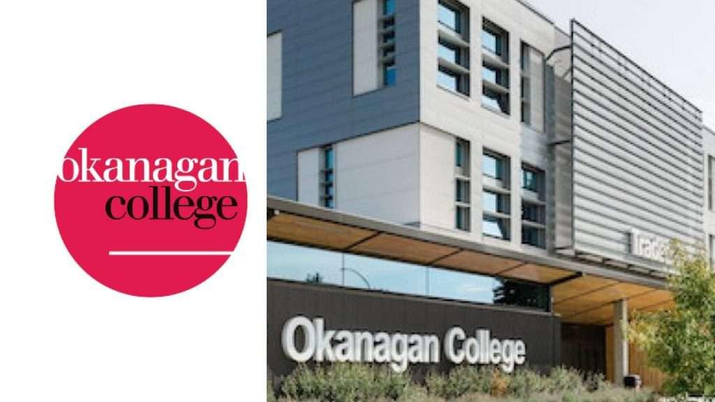 Okanagan College Logo and Building