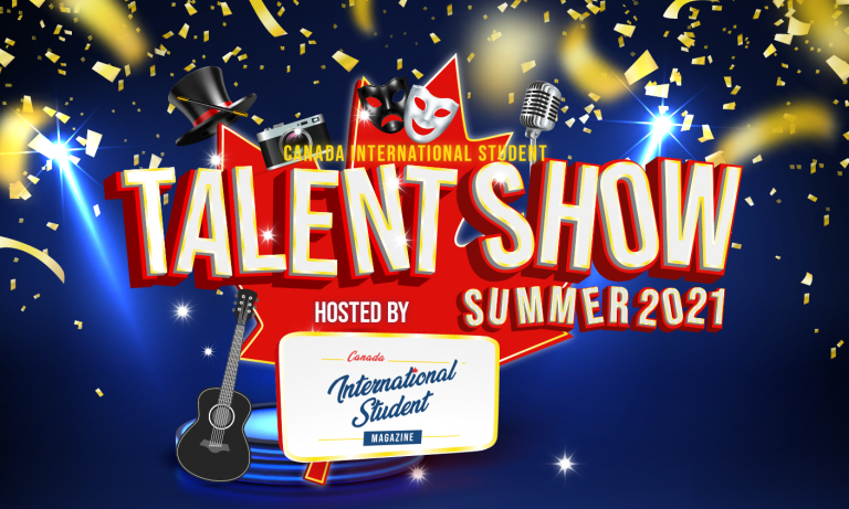How to join the Canada International Student Talent Show!