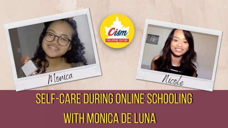 Self-care during Online Schooling with Monica De Luna