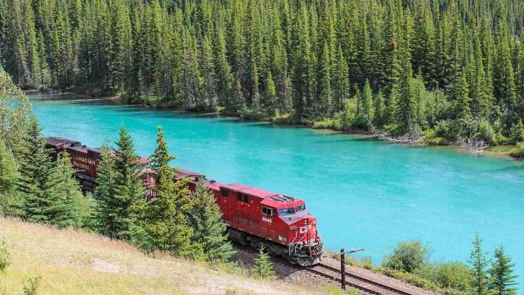 Canada Railway in British Columbia