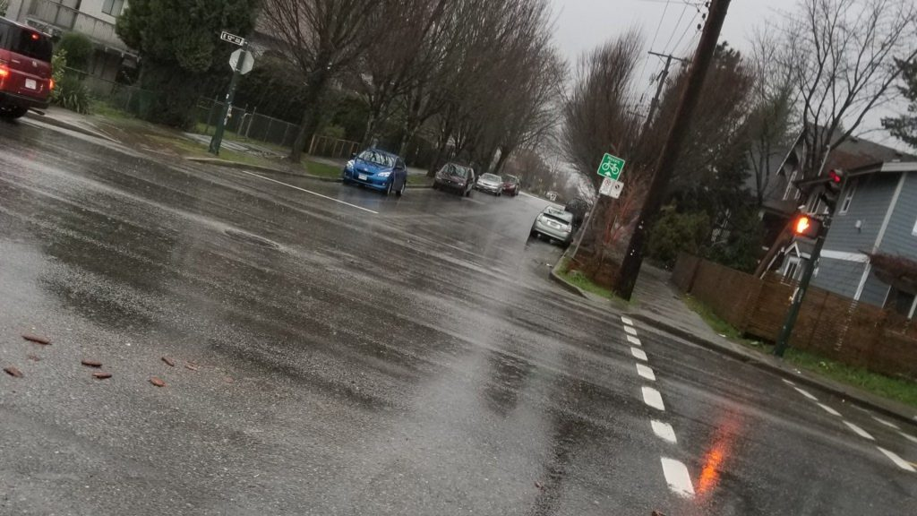 Rain in Vancouver