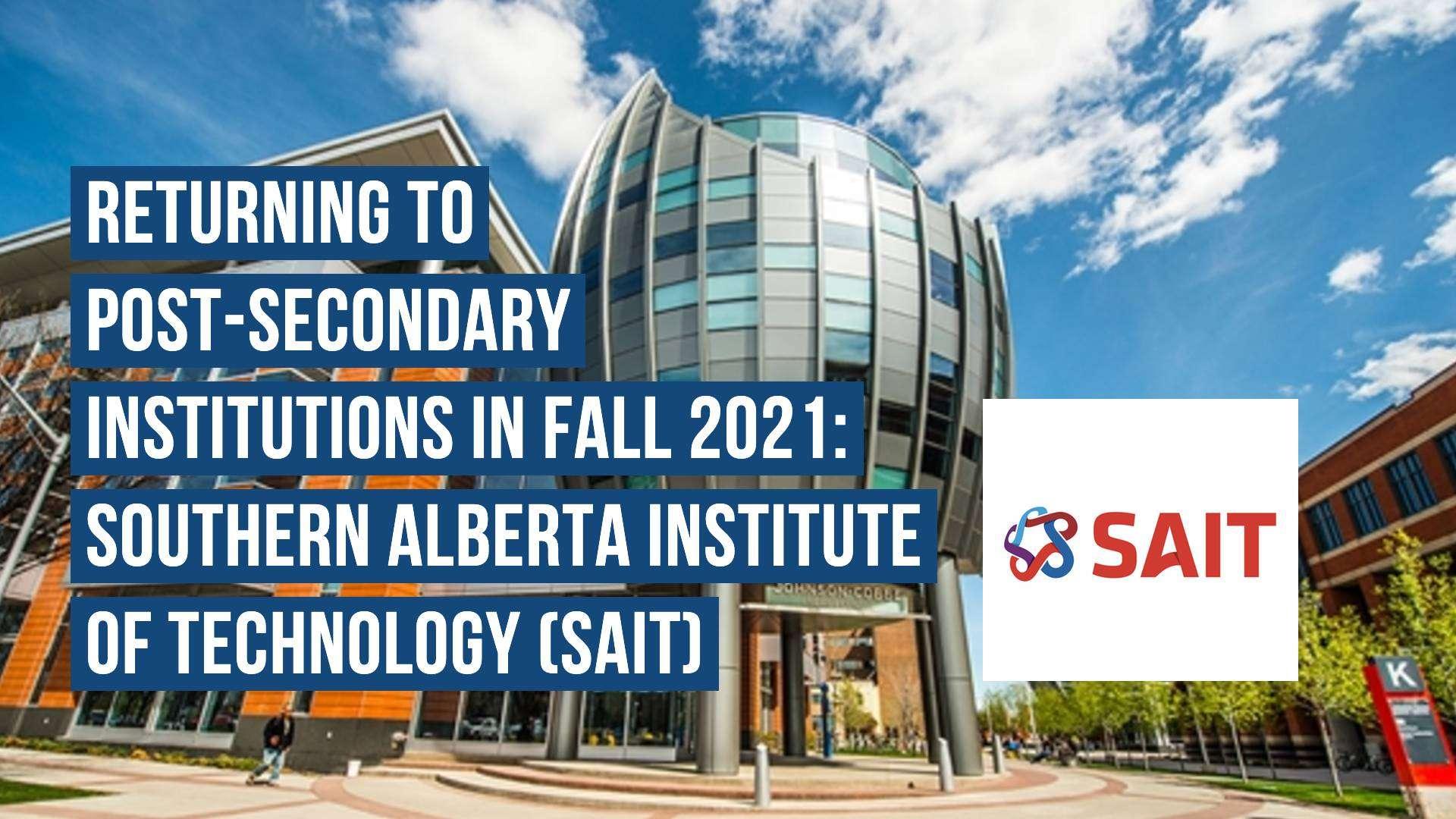 SAIT Return to Post-Secondary Canada