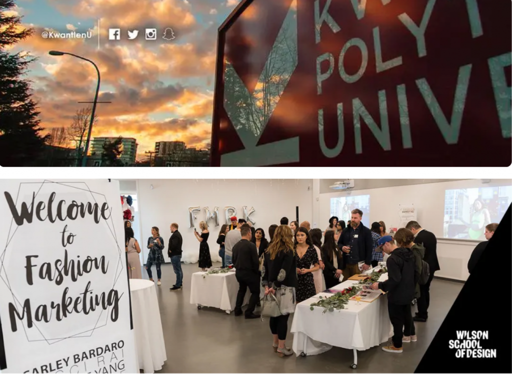 Kwantlen Polytechnic University - Welcome Session with Students in hall at Wilson School of Design.